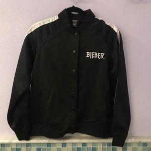 Justin Bieber Purpose Tour Forever21 Bomber Jacket
